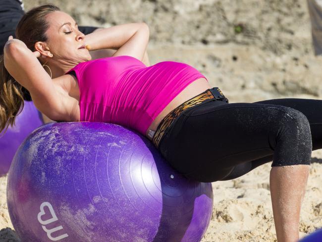 risky pregnancy exercises