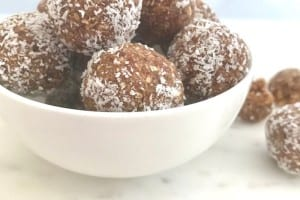 nut free brownie bites