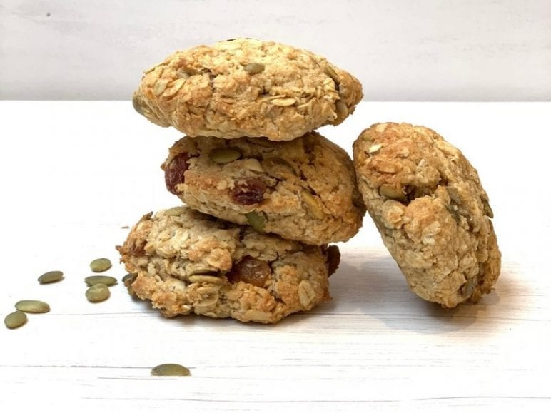 lunch box, Kid- Approved Muesli Cookies