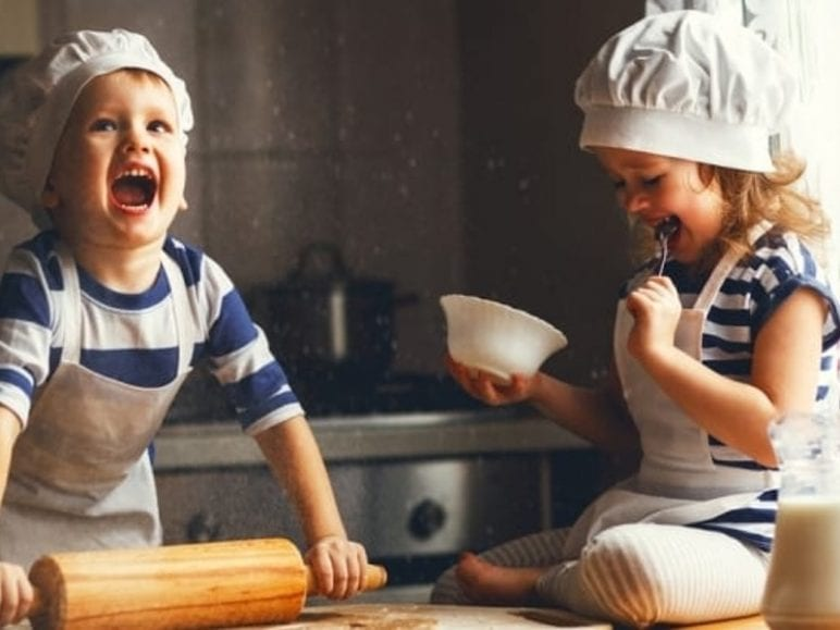 cooking with kids, How To Get Kids In The Kitchen